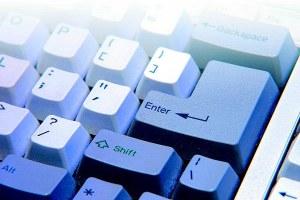 Tastiera di computer, enter, informatica