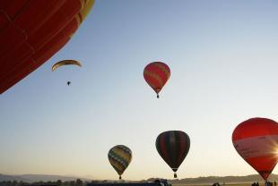 Secondo fine settimana della Festa dell'Aria: Campionato italiano di Acrobazia in Aliante e Trofeo Aerostatico Internazionale