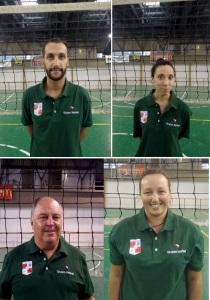 i quattro allenatori del settore giovani
