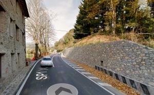 SP1 via per Camaiore (Francigena) tratto Bollore già ampliato