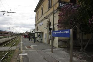 La stazione di Tassignano (foto d'archivio)