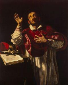 4 nov Orazio_Borgianni_-_St_Carlo_Borromeo_-_WGA2468