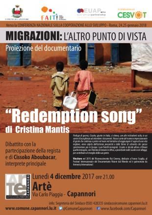 """Lunedì 4 dicembre ad Artè si proietta il documentario """"Redemption song"""""""