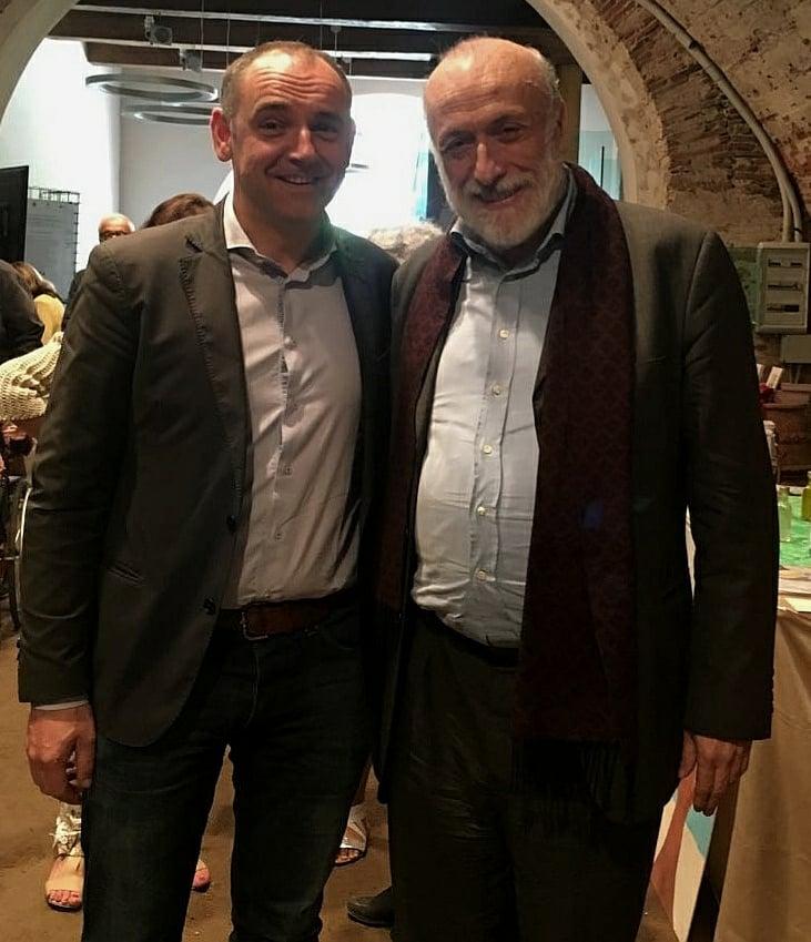Luca Menesini e Carlo Petrini