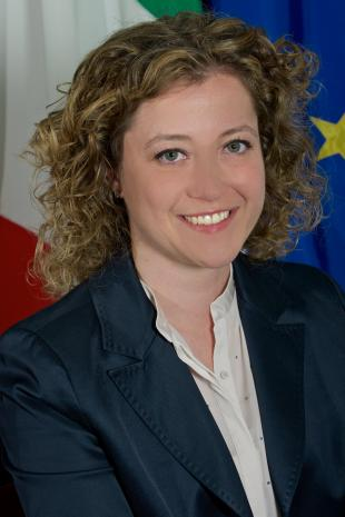 L'assessore alle finanze Ilaria Carmassi