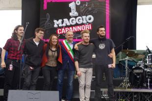 La band B.K premiata dal sindaco Menesini e dall'assessore Miccichè