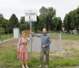 L'assessore Frediani e il presidente della Cooperativa Odissea, Bonetti