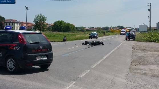 Il luogo dell'incidente (foto...