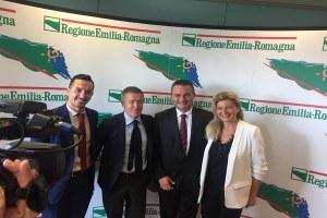 EmiliarRomagnawifi, Donini, Fenucci Bologna Fc, Torri e Gozzoli