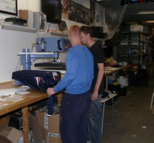 textiel drukkerij