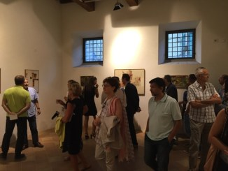 Inaugurata la sala Nuvolo della Pinacoteca di Città