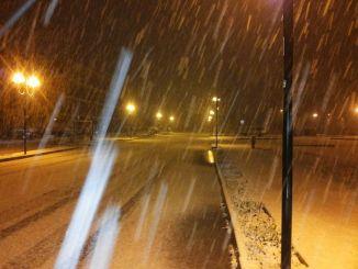 Maltempo Umbria, la neve non ferma i servizi a Montone
