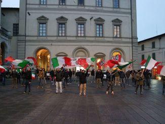 CasaPound, rione Prato Città di Castello, centrodestra spettacolo indegno