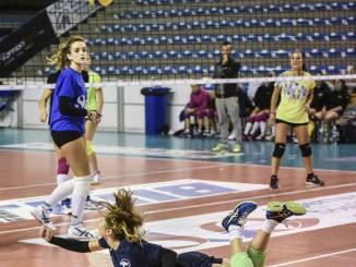 San Giustino volley perde 0-3 in casa della capolista Galeno Perugia
