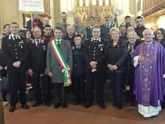 I Carabinieri di Sansepolcro in festa per la Virgo Fidelis