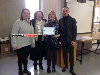 Scuola amica dei bambini, attestato Unicef alla Di Vittorio di Umbertide
