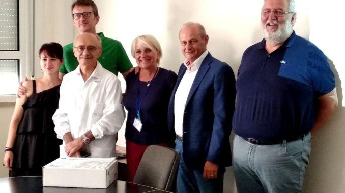 Ospedale di Città di Castello, associazioni donano sonda ecografica a Pronto Soccorso