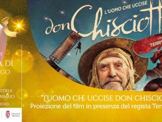 """Montone, Terry Gilliam presenta """"L'uomo che uccise Don Chisciotte"""""""