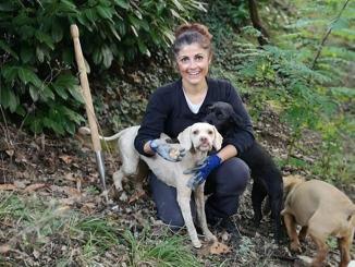 Col vanghino e il cane, la dea dei tartufi, è Elisa Ioni laurea in sociologia