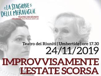 """Al Teatro dei Riuniti va in scena """"Improvvisamente l'estate scorsa"""""""