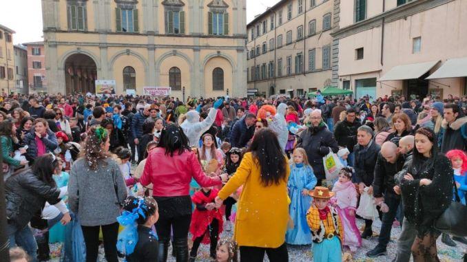 Carnevale in piazza a Città di Castello, una festa riuscita