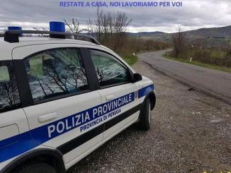 Strada provinciale anche sulla Apecchiese Covid19 controlli della Polizia