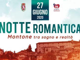 """Borghi più belli d'Italia, è tutta da gustare la """"Notte Romantica"""" a Montone"""