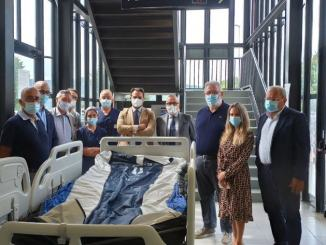 Imprese Confindustria Altotevere donano due letti terapia intensiva