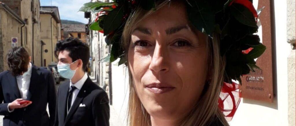 110 e lode di Anna Maria Massai, arrivano le congratulazioni del sindaco di San Giustino