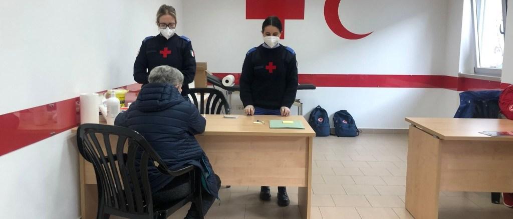 Test rapidi alla Croce Rossa di Città di Castello, grande richiesta da parte dei cittadini