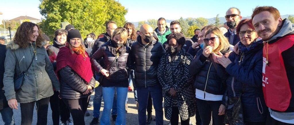 Città di Castello, Industria Umbra: contro la chiusura lavoratori in sciopero