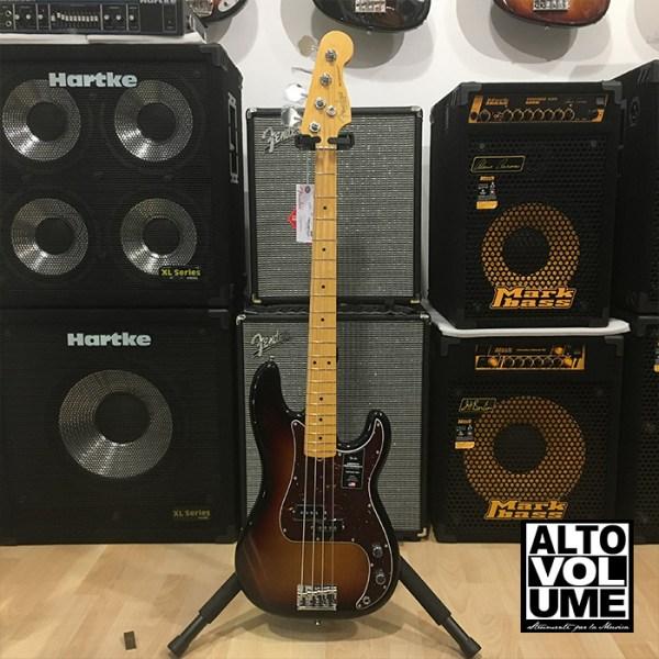 Fender Precision American Professional II 3 color sunburst