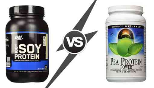 Pea Protein vs Soy Protein - What Are the Differences and Which is Better?