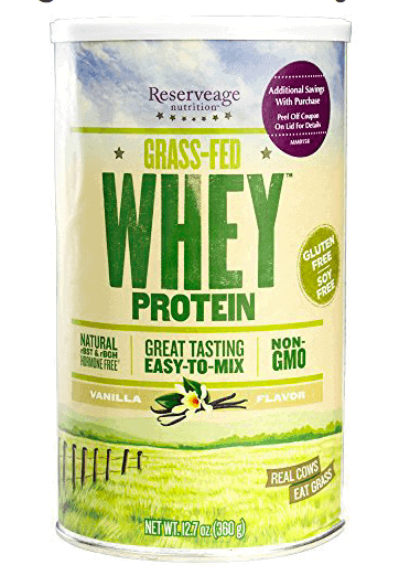 Reserveage Grass Fed Whey Protein Powder