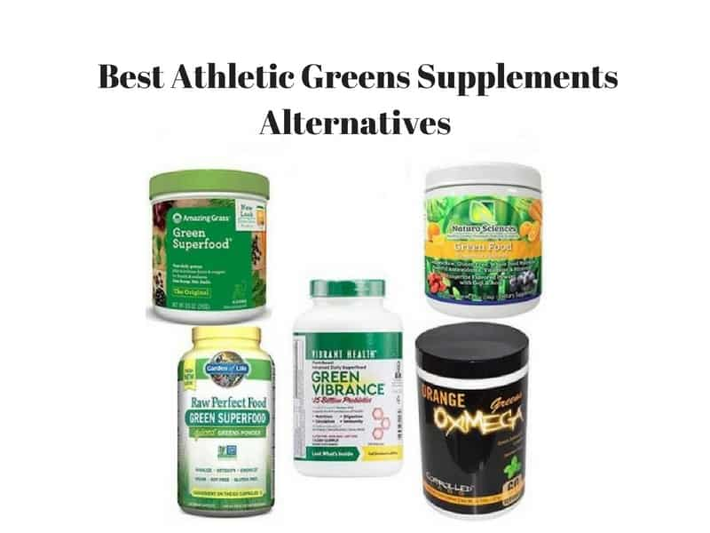 Best Athletic Greens Supplements Alternatives