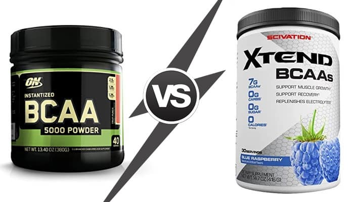 scivation xtend vs optimum bcaa: which one is effective