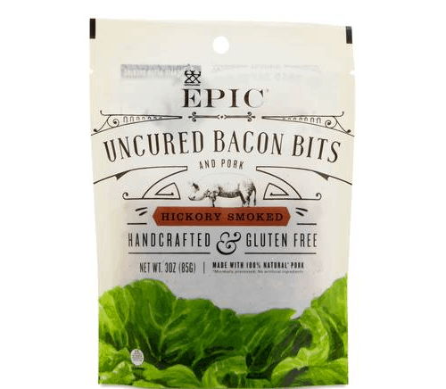 epic uncured bacon