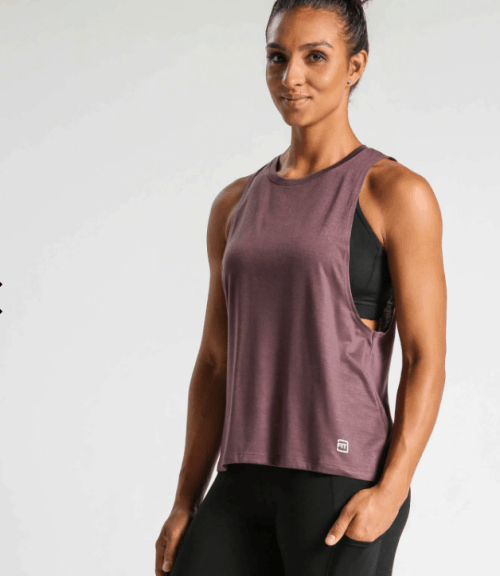 ideal fit muscle tank