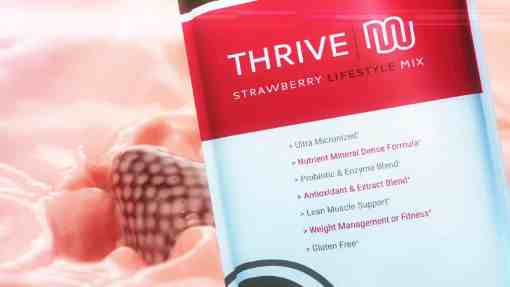 thrive strawberry mix