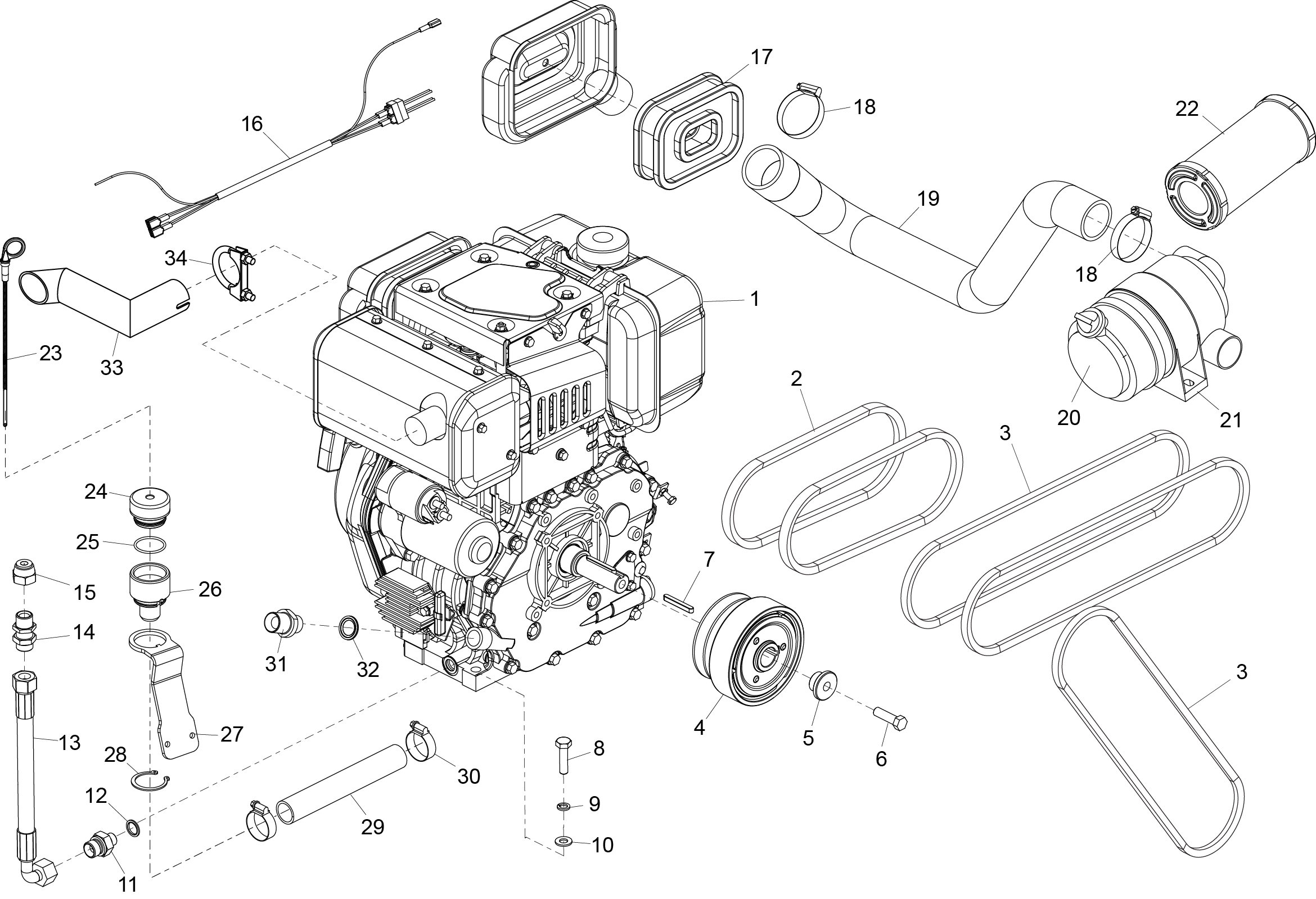 Yanmar Tractor Parts Diagram