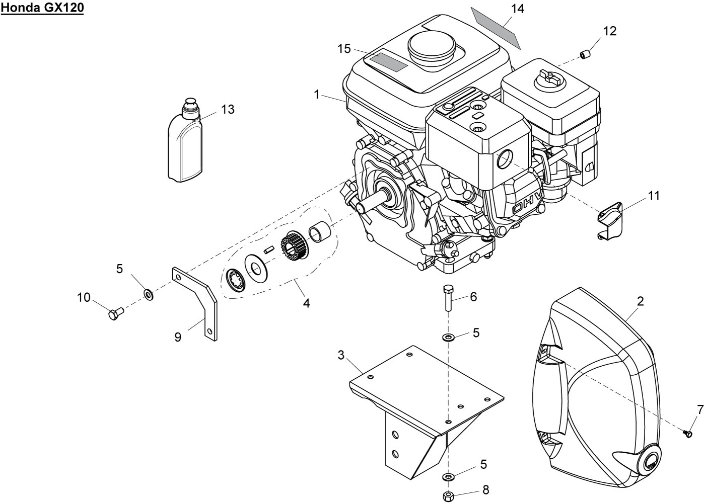 Honda Hrr2168vka Part Diagram