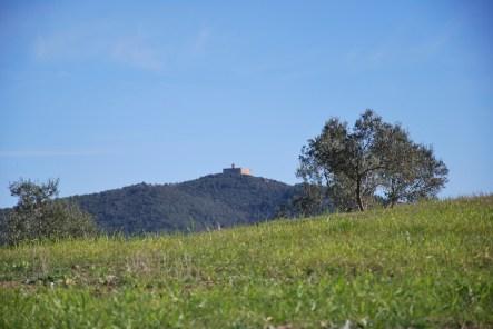 La Rocca Sillana bij Pomarance