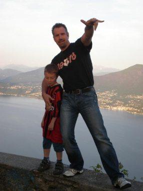 Mister Cali und Ezra am Lago Maggiore, die Zweite