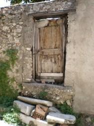 Teggiano - alte Tür