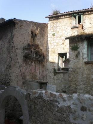 Teggiano - Altstadtansicht