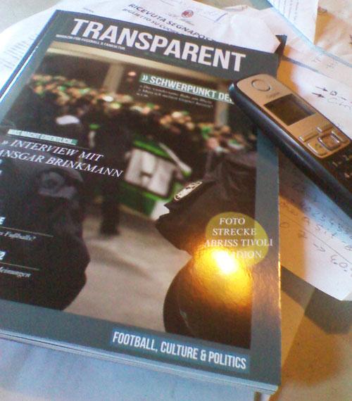Transparent Magazin