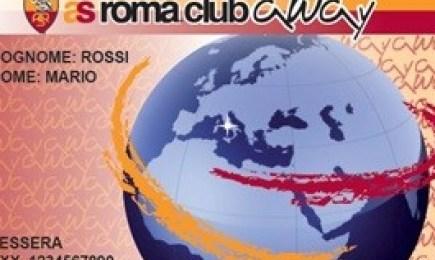 AS Roma Away Card