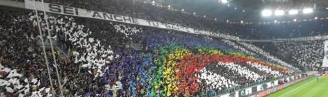 Juve-Milan 2013 Choreografie