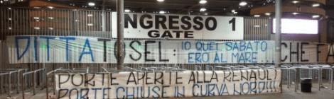 Protest Curva Nord
