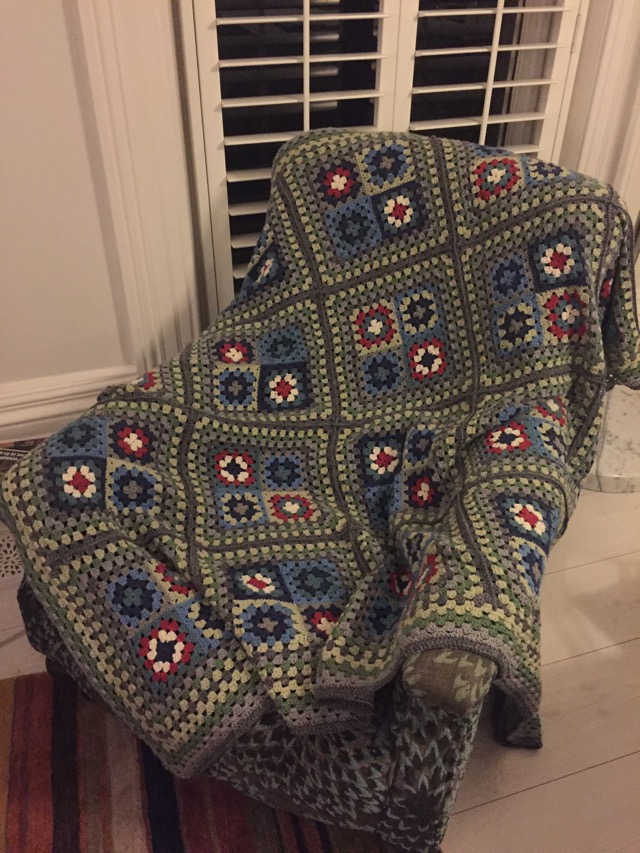 Step-by-step easy crocheted granny square blanket – altrincham ...